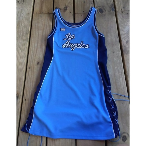 60565b53e51 Dresses   Skirts - Los Angeles Lakers Vintage Jersey Dress
